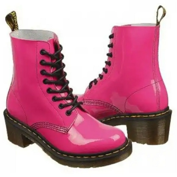 doc martin pink boots